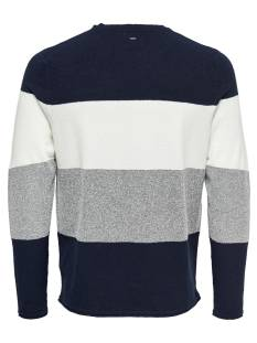 Only & Sons ONSTED 12 MULTI KNIT Blauw