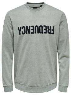 Only & Sons  Only & Sons ONSTAGE CREWNECK Trui light grey melange 22014594