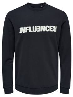 Only & Sons  Only & Sons ONSTAGE CREWNECK Trui dark navy 22014594