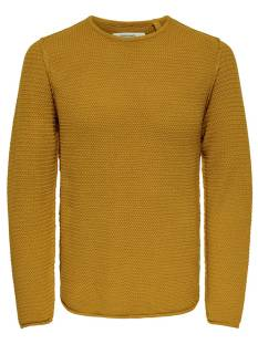 Only & Sons  Only & Sons ONSTROUGH KNIT SL 3108 Trui chai tea 22013108