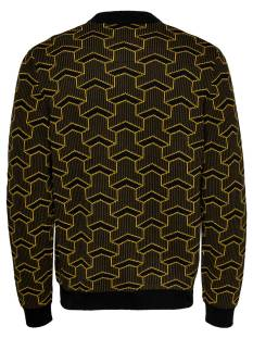 Only & Sons ONSPAST HIGH NECK KNIT SL 4291 Zwart