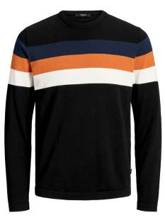 Jack & Jones Premium  Jack & Jones Premium JPRBLASAWYER KNIT CREWNECK Trui black 12165434