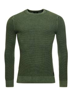 Superdry  Superdry M6110219A ACADEMY DYED CREW Trui oq3 seagrass