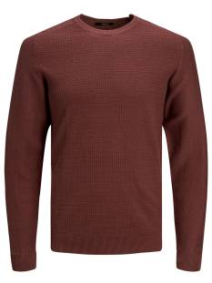 Jack & Jones Premium  Jack & Jones Premium JPRBLAADAM KNIT CREW NECK STS Trui hot chocolate 12178459