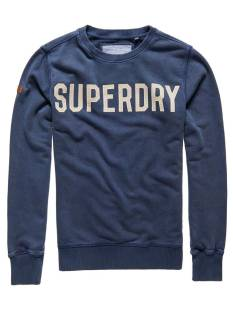 Superdry  Superdry M20003TOF1 SOLO SPORT CREW Sweater rich navy adq