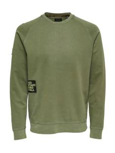 Only & Sons  Only & Sons ONSWUK CREWNECK SWEAT Sweater olive drab 22010985
