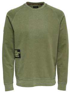 Only & Sons ONSWUK CREWNECK SWEAT Groen