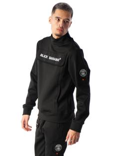 Black Bananas  Black Bananas PROTECT COLLAR Sweater black