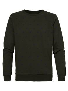Petrol  Petrol M-3000-SWR370 Sweater 6051 forest