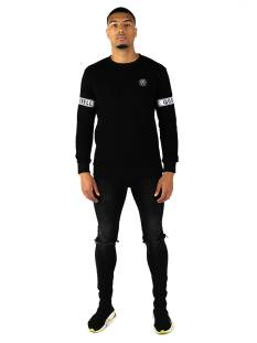 Quotrell  Quotrell SERGEANT SWEATER SW00001 Sweater 900 black
