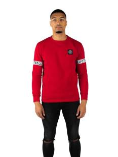 Quotrell  Quotrell SERGEANT SWEATER SW00001 Sweater 400 red