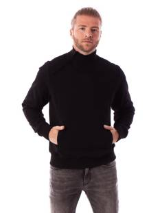Black Bananas ZIPPED COLLAR SWEAT Sweater 1 black