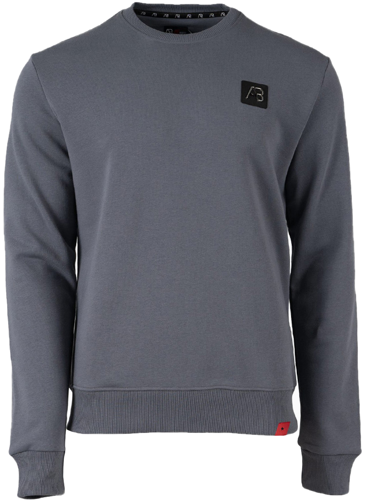 AB Lifestyle heren Sweaters BASIC SWEATER S Grijs