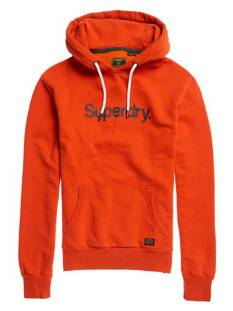 Superdry  Superdry M2010422A CL CANVAS HOOD Hoodies 9sn den co rust