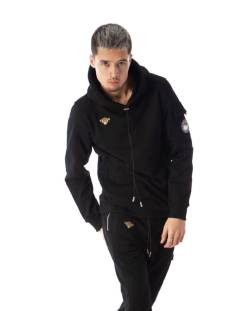 Black Bananas STATEMENT HOODY Hoodies black
