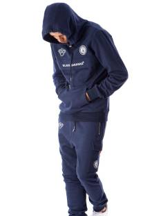 Black Bananas  Black Bananas ANORAK STYLE HOODY Hoodies navy