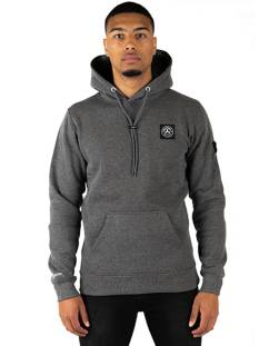 Quotrell  Quotrell COMMODORE HOODIE HS00004 Hoodies 1000 grey