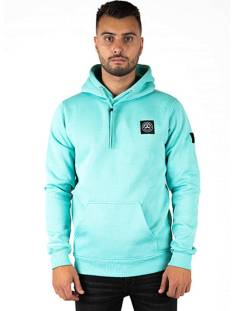 Quotrell  Quotrell COMMODORE HOODIE HS00004 Hoodies 1105 mint