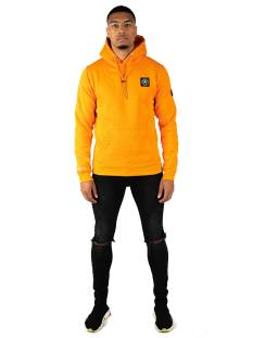Quotrell  Quotrell COMMODORE HOODIE HS00004 Hoodies 800 orange