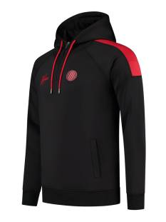 Malelions  Malelions MS-SS21-1-07 STRIKER HOODIE Hoodies 914 black/neon red