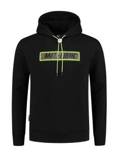 Malelions  Malelions MM-SS21-1-09 PERCEPTION HOODIE Hoodies 903 black/neon yellow