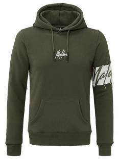 Malelions  Malelions CAPTAIN HOODIE Hoodies 403 green - dark army