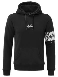 Malelions  Malelions CAPTAIN HOODIE Hoodies 905 black - off white