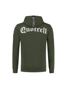 Quotrell  Quotrell COMMODORE HOODIE HS00004 Hoodies 1103 army green
