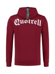 Quotrell  Quotrell COMMODORE HOODIE HS00004 Hoodies 500 bordeaux