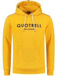 Quotrell  Quotrell BASIC HOODIE HS00002 Hoodies 600 yellow