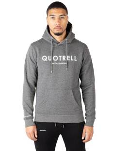 Quotrell  Quotrell BASIC HOODIE HS00002 Hoodies 1104 dark grey