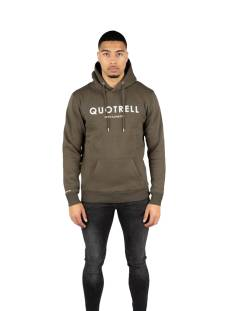 Quotrell  Quotrell BASIC HOODIE HS00002 Hoodies 1103 army green