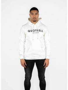 Quotrell  Quotrell BASIC HOODIE HS00002 Hoodies 1112 off white