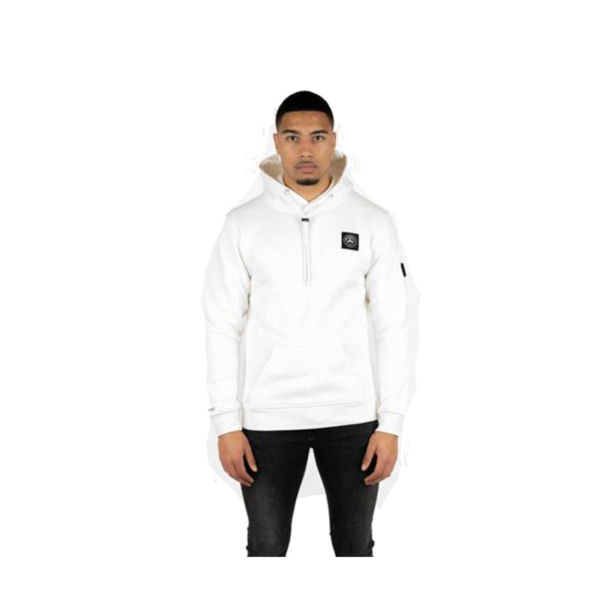Quotrell COMMODORE HOODIE HS00004 Wit
