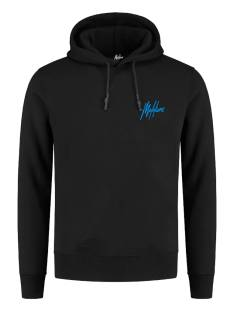 Malelions  Malelions DOUBLE SIGNATURE HOODIE Hoodies black - blue