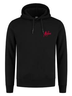 Malelions  Malelions DOUBLE SIGNATURE HOODIE Hoodies black - red