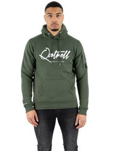 Quotrell  Quotrell SIGNATURE HOODIE HS00003 Hoodies 1289 dark green