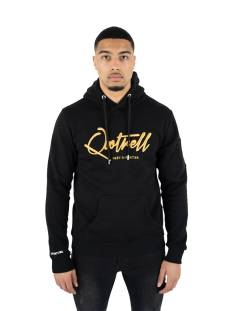 Quotrell  Quotrell SIGNATURE HOODIE HS00003 Hoodies 5748 black/gold