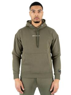 Quotrell  Quotrell LOUISIANA HOODIE HS239034 Hoodies 1103 army green