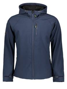 Superdry Jas Superdry M5010058A HOODED SOFTSHELL Jacks 11s navy