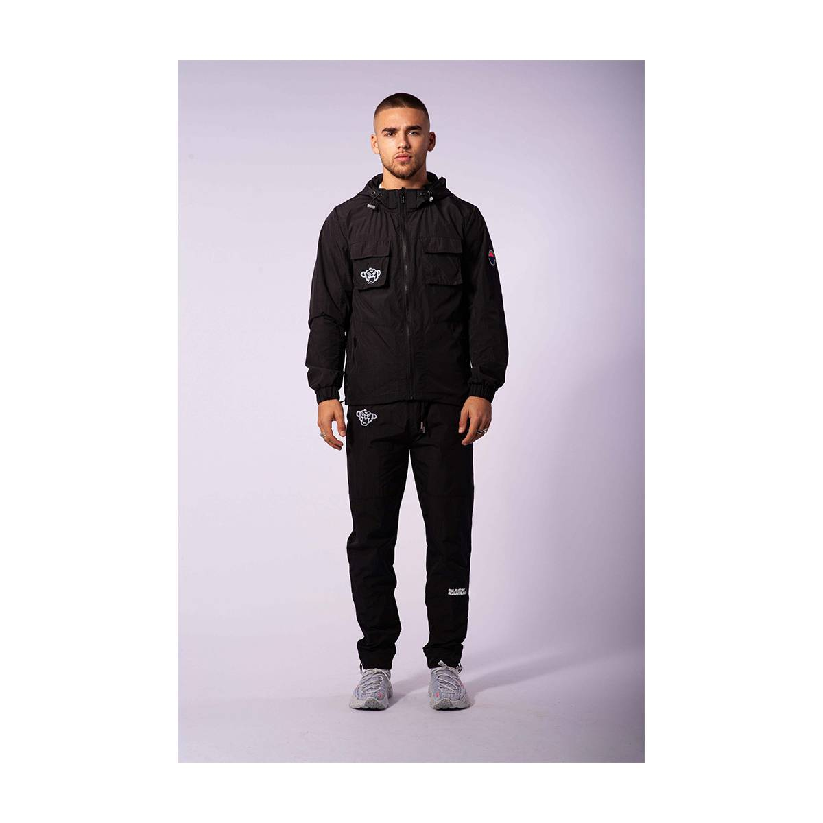 Black Bananas SPACE JACKET Zwart