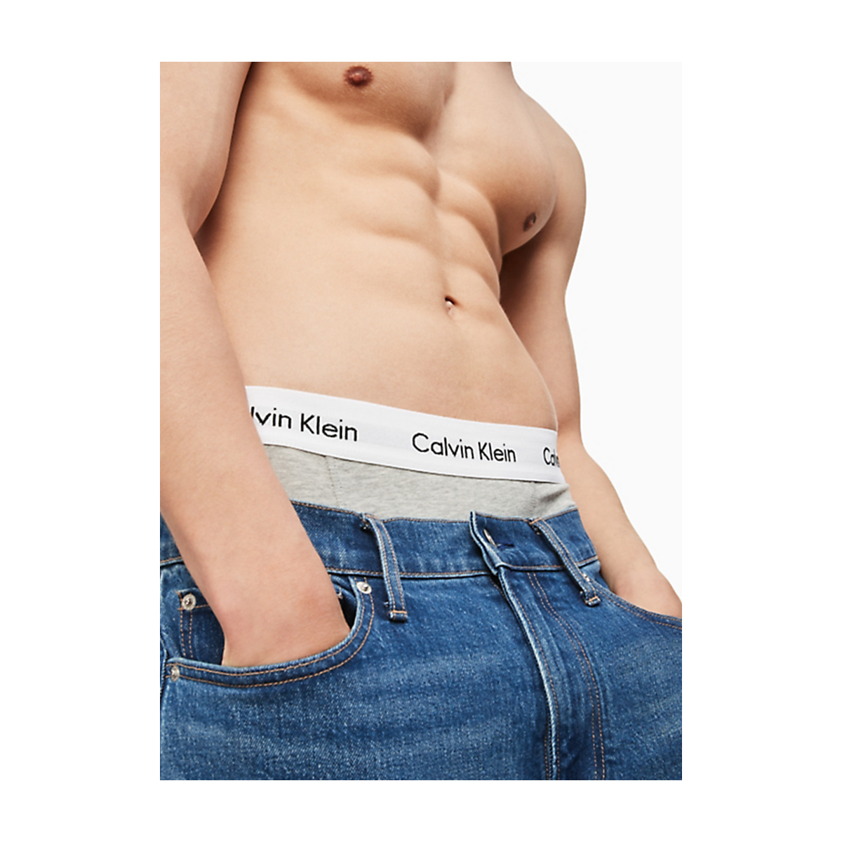 Calvin Klein 3-PACK LOW RISE TRUNK U2664G Zwart