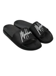 Malelions MM-SS21-1-26 MALELIONS SLIDES Slippers 904 black/white