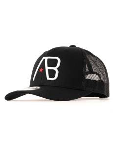 AB Lifestyle Accessoire AB Lifestyle RETRO TRUCKER CAP Petten white on black